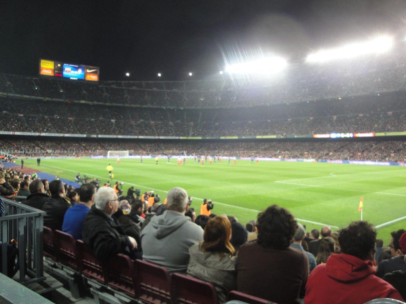 Barca - Gijon : 3-1