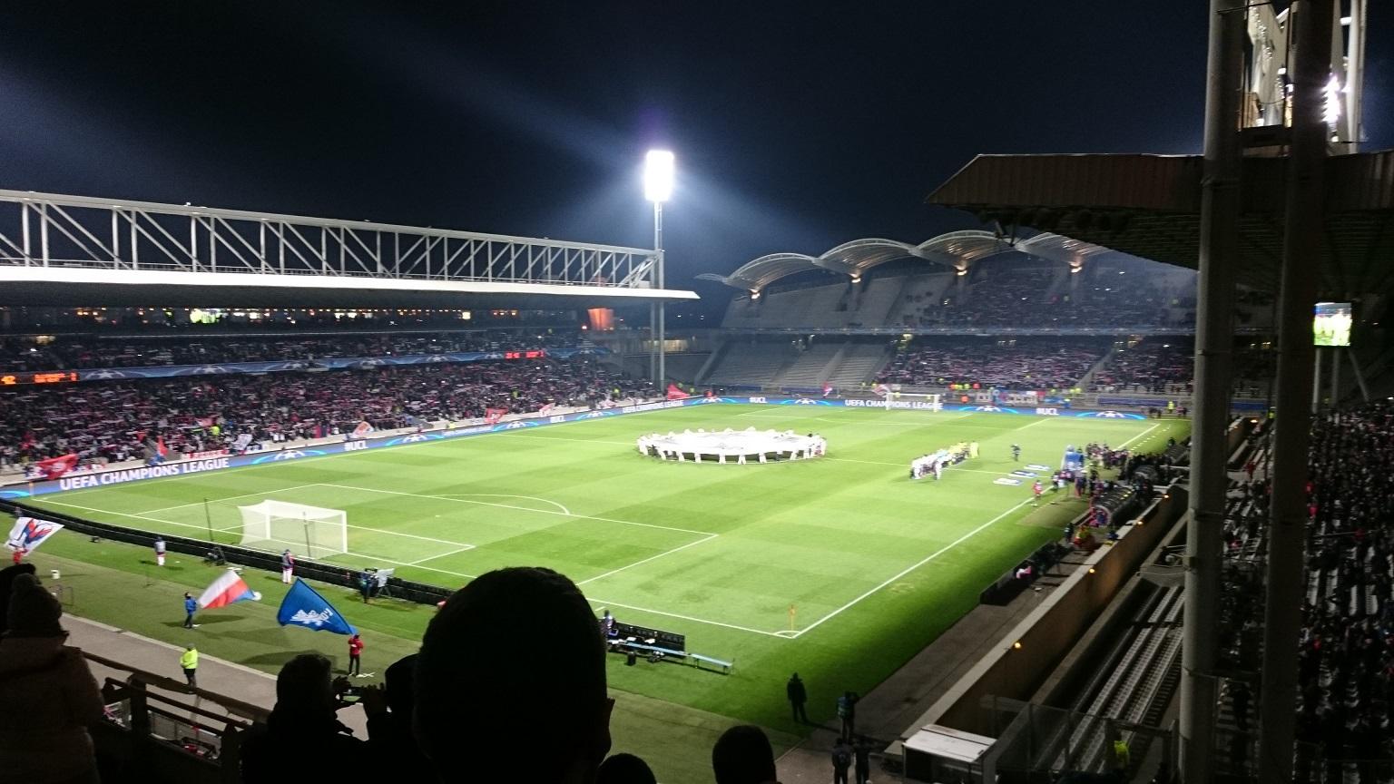Lyon - La Gantoise : 1-2